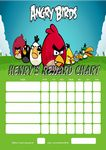 Personalised Angry Birds Reward Chart (adding photo option available)